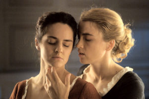 Noémie Merlant and Adèle Haenel in Portrait of a Lady on Fire. Photo: Courtesy of TIFF