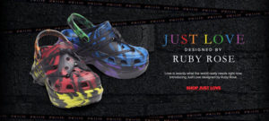 Just Love designed by Ruby Rose Crocs Classic Bae Clog