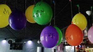 Balloner på GBar til Quizfinalen S22S23 2021