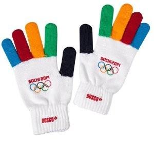sochi gloves - De officielle OL handsker
