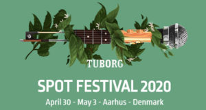 SPOT FESTIVAL 2020 April 30 - May 3 - Aarhus - Denmark
