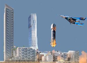 Lighthouse - Mindet 6 - Blue Origin New Shepard - Virgin Galactic VSS Unity