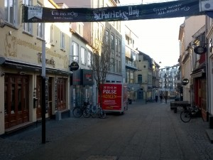 St Paddy's Festival i Tir Na nÒg - Frederiksgade i Aarhus
