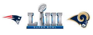 superbowl2019 - New England Patriots(AFC) - Los Angeles Rams (NFC)