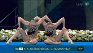 2 x Svetlana // Artistic Swimming - Free Routine Preliminary Results - OL Tokyo 2020