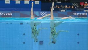 2 x Svetlana // Artistic Swimming -Artistic Swimming - Technical Routine Results - OL Tokyo 2020