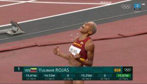 Yulimar Rojas (Ven) vinder guld i trespring OL Tokyo 2020