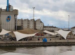 Univers teltet på kajen i Århus - hvorofr bruger man det ikke ????