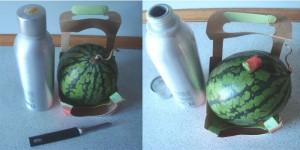 vandmelon med vodka