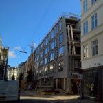 Nybyggeriet set fra Borggade