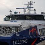 Samsø Rederis nye hurtigfærge, Lilleøre skal efter planen begynde sejladsen den 26.april 2021
