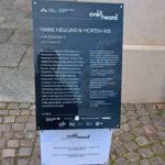 The Overheard - lydværket 4140 Voices i Mindeparken