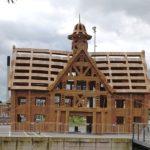 Aarhus' gamle Rådhus bygget i pap